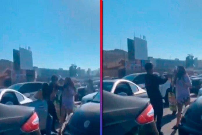 Mujeres desgreñan chocar Tijuana