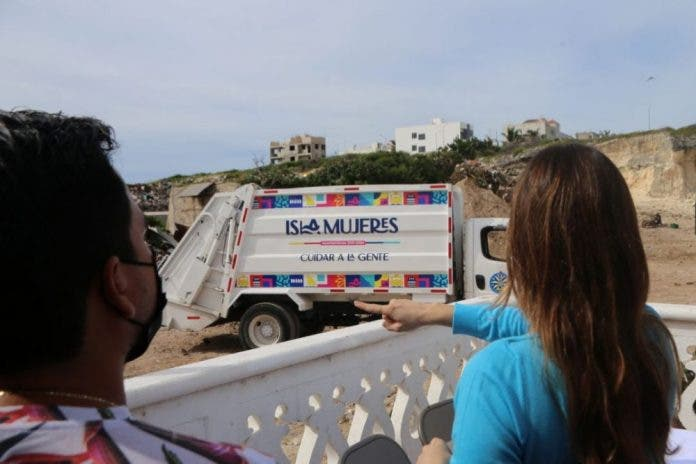 Basura en Isla Mujeres