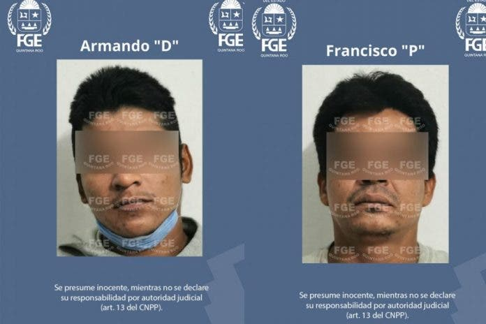 Detienen a Francisco N y Armando N