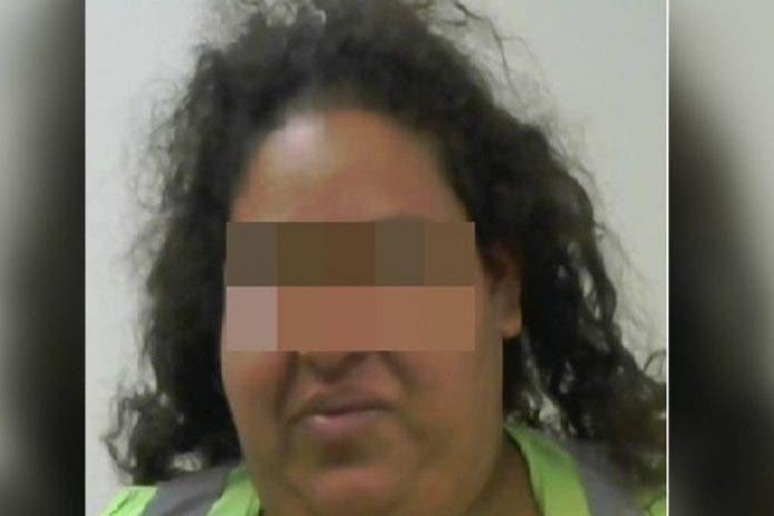 Mujer es detenida tras intentar