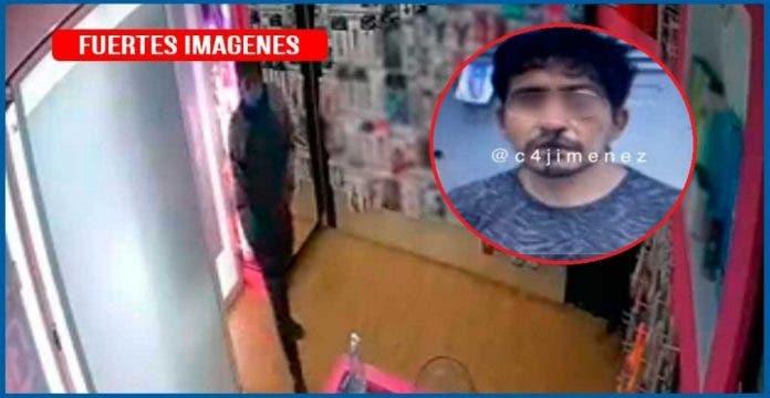 hombre apuñaló a empleada de una sex shop para robarle