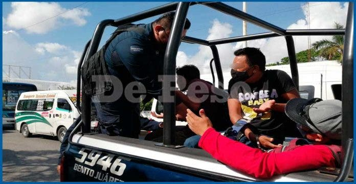 Cancún: Policía saca de las calles a 4
